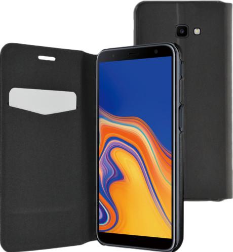 Azuri Ultra Thin Samsung Galaxy J4 Plus Book Case Black Main Image