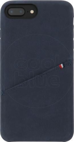 Decoded Leather iPhone 8 Plus / 7 Plus / 6s Plus / 6 Plus Back Cover Blue Main Image
