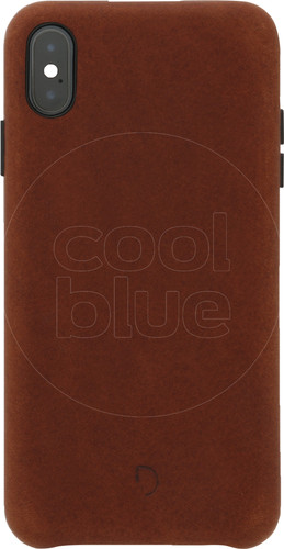 Decoded Leather iPhone Xs Max Back Cover Bruin Main Image