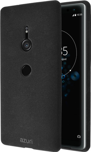 Azuri Flexible Sand Sony Xperia XZ3 Back Cover Zwart Main Image