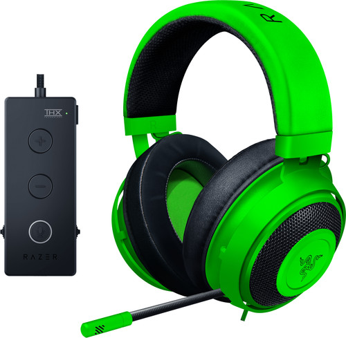 Razer Kraken Tournament Edition THX Gaming Headset Green Main Image