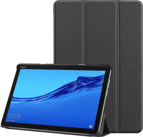 Just in Case Smart Tri-Fold Huawei Mediapad M5 Lite 10.1 Book Case Black Main Image