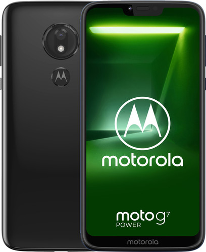 Motorola Moto G7 Power Zwart Main Image