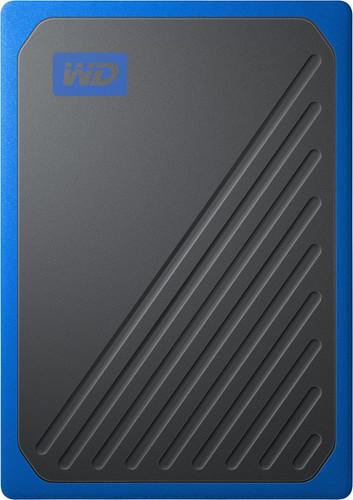 WD My Passport Go 500 GB Zwart / Blauw Main Image