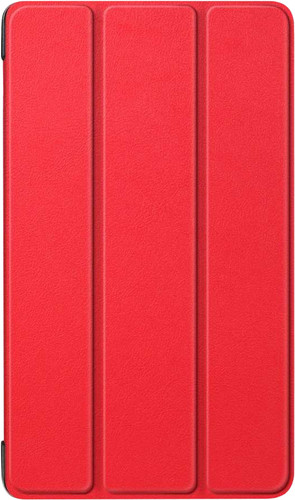 Just in Case Smart Tri-Fold Lenovo Tab E7 Book Case Red Main Image
