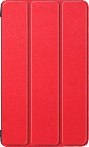 Just in Case Smart Tri-Fold Lenovo Tab E8 Book Case Rood Main Image