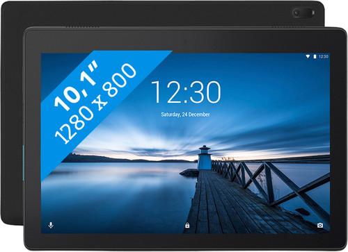 Lenovo Tab E10 2GB 16GB Wifi Zwart Main Image