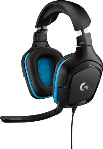 Logitech G432 7.1 Surround Sound Wired Gaming Headset Main Image