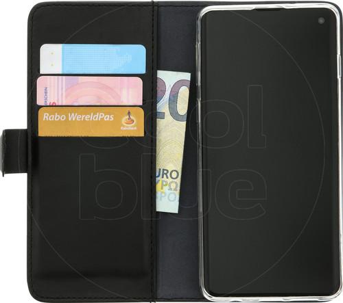 Azuri Wallet Magnet Samsung Galaxy S10 Book Case Black Main Image