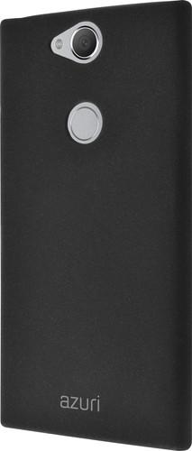 Azuri Flexible Sand Sony Xperia XA2 Plus Back Cover Zwart Main Image