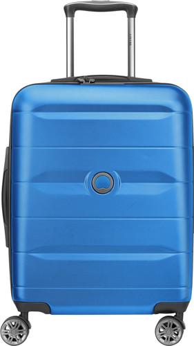 Delsey Comete Slim Spinner 55cm Blue Main Image