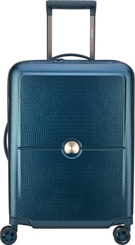 Delsey Turenne Slim Spinner 55cm Blue Main Image