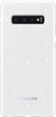 Samsung Galaxy S10 Plus LED Cover Back Cover Wit Main Image