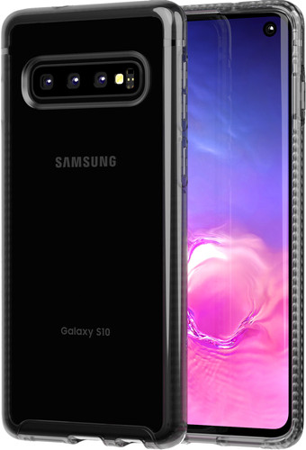 Tech21 Pure Clear Samsung Galaxy S10 Back Cover Black Main Image