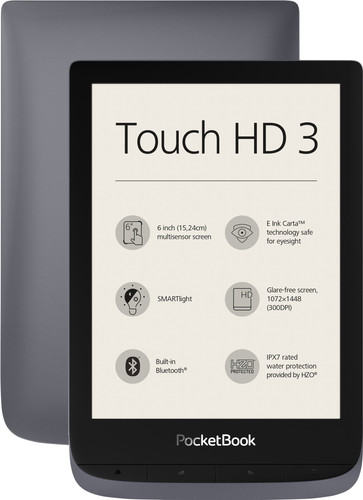 Pocketbook Touch HD 3 Grijs Main Image
