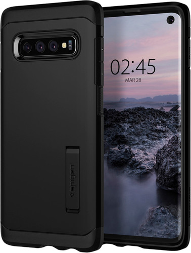 Spigen Tough Armor Samsung Galaxy S10 Back Cover Zwart Main Image