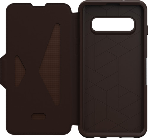 OtterBox Strada Samsung Galaxy S10 Book Case Brown Main Image