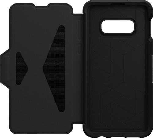 OtterBox Strada Samsung Galaxy S10e Book Case Zwart Main Image