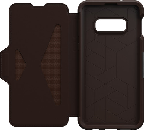 OtterBox Strada Samsung Galaxy S10e Book Case Brown Main Image