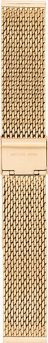 Michael Kors Access Horloge Bandje Goud Mesh MKT9074 Main Image