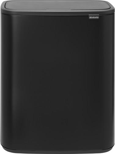 Brabantia Bo Touch Bin 2 x 30 Liter Matt Black Main Image