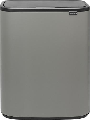 Brabantia Bo Touch Bin 2x30 Liters Mineral Concrete Gray Main Image