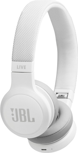 JBL LIVE 400BT Wit Main Image