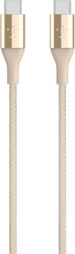 Belkin Duratek Usb C to Usb C Cable Gold 1.2m Main Image