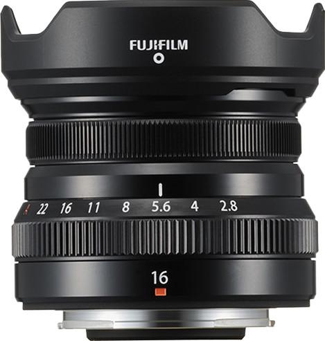 Fujifilm XF16mm f/2.8 R WR Black Main Image