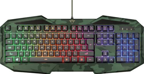 Trust GXT 830RW Avonn Gaming Toetsenbord QWERTY Camo Main Image