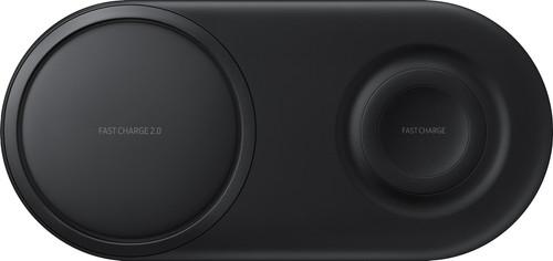 Samsung Draadloze Oplader DUO Pad Zwart Main Image