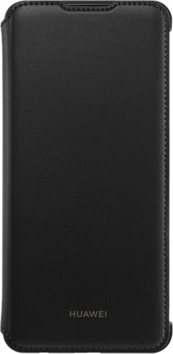 Huawei P Smart (2019) Flip Cover Book Case Black Main Image