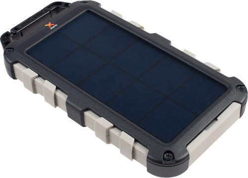 Xtorm Robust Charger Solar Powerbank 10.000 mAh Zwart Main Image