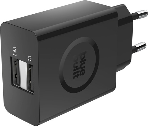 Second Chance BlueBuilt 3.4A Charger with 2 USB Ports Black Main Image