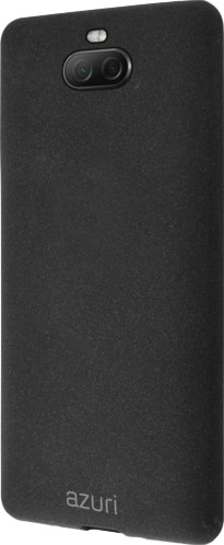 Azuri Flexible Sand Sony Xperia 10 Back Cover Zwart Main Image