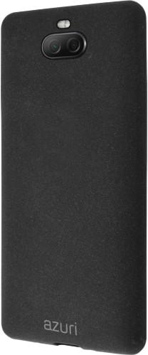 Azuri Flexible Sand Sony Xperia 10 Plus Back Cover Zwart Main Image