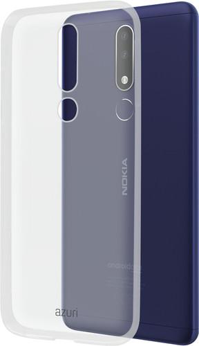 Azuri Glossy TPU Nokia 3.1 Plus Back cover Transparant Main Image