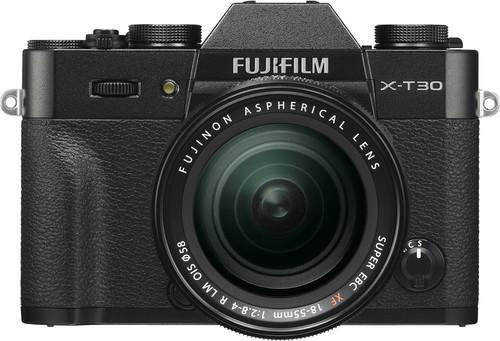 Fujifilm X-T30 Black + XF 18-55mm f/2.8-4.0 R LM OIS Main Image