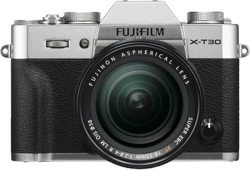 FujiFilm X-T30 Silver + XF 18-55mm f/2.8-4.0 R LM OIS Main Image