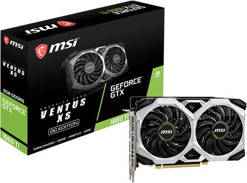 MSI GeForce GTX 1660 Ti VENTUS XS 6G OC Main Image