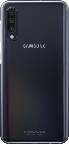 Samsung Galaxy A50 Gradation Back Cover Black / Transparent Main Image