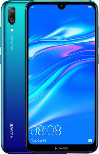 Huawei Y7 (2019) Dual Sim Blauw Main Image