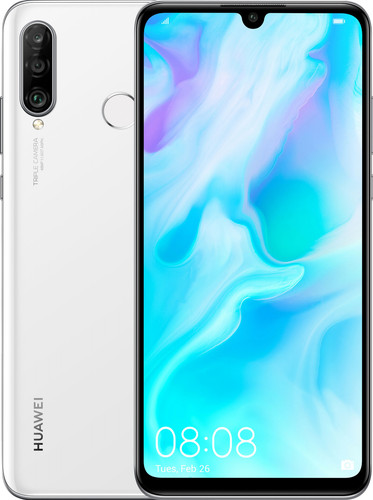 Huawei P30 Lite 128 GB Wit Main Image