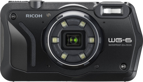 Ricoh WG-6 Black Main Image