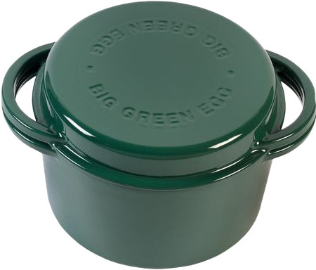 Big Green Egg Green Dutch Oven Round Main Image