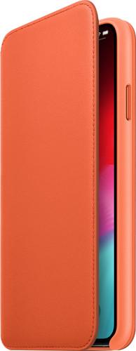 Apple iPhone Xs Max Leather Folio Sunset Main Image