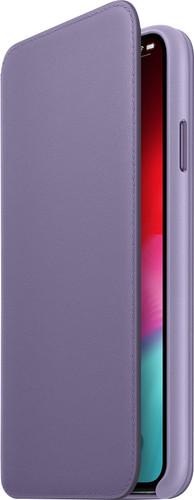 Apple iPhone Xs Max Leather Folio Lila Main Image