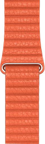 Apple Watch 44mm Leather Loop Horlogeband Medium Zonsondergang Main Image