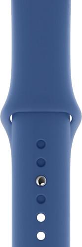Apple Watch 40mm Siliconen Horlogeband Sport Delfts Blauw Main Image