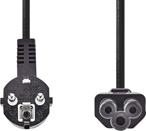 Nedis Power cable Mickey Mouse 2 Meter Black Main Image